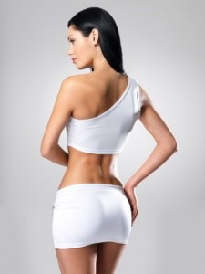 Post liposuction model